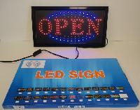 Light Up Sign-OPEN [Horizontal]
